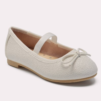 Toddler Girls' American Girl Becca Ballet Flats - Cat & Jack™ White