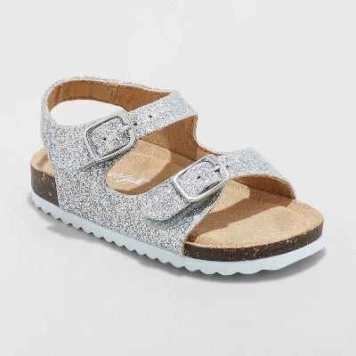 Toddler Girls' Tisha Comfort Footbed Sandals - Cat & Jack™