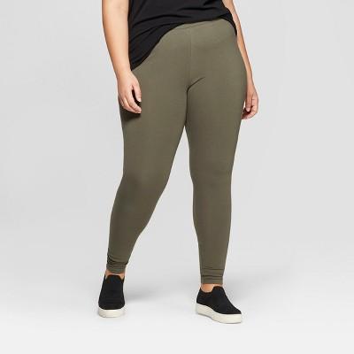 Women's Plus Size Ankle Length Leggings - Ava & Viv™