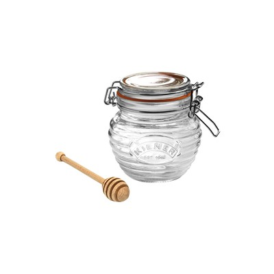 Kilner 13.5oz Glass Honey Pot Set