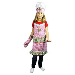 Kitchen Apron For Kids Backsplash Ideas 3 Piece Chef Set Hat Mitt Sweet Stuff Mu About This Item