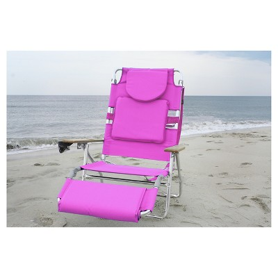 pink beach chair table chairs for sale ostrich deluxe face down 3 in 1 deltess target