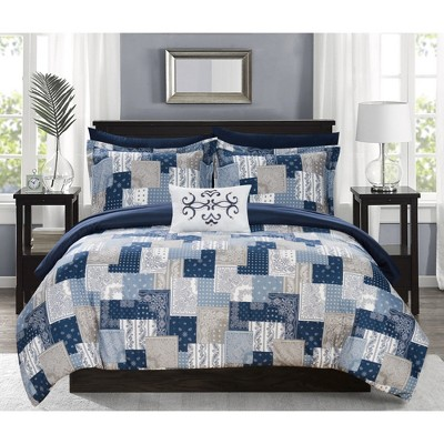 Viy Bed in A Bag Comforter Set - Chic Home