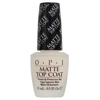OPI Nail Treatment Matte Top Coat - 0.5 fl oz