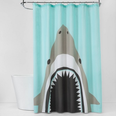 Shark Bite Shower Curtain - Pillowfort™
