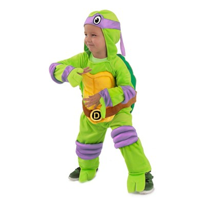 Baby Teenage Mutant Ninja Turtles Donatello Jumpsuit Halloween Costume - Princess Paradise