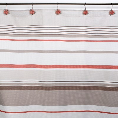 black tan shower curtains target
