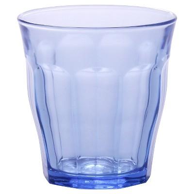 Duralex - Picardie 10 7/8 oz Glass Set of 6 - Blue