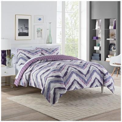 Vue Baxter Reversible Comforter & Sham Set