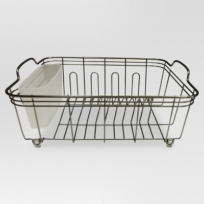kitchen storage racks orange cabinets holders and dispensers steel with brushed about this item