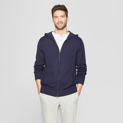 Men's Standard Fit Sweater Hoodie - Goodfellow & Co™ Navy