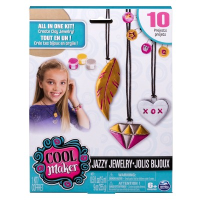Cool Maker Jazzy Jewelry Clay Bracelets & Necklaces
