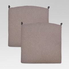 Target Chair Cushions Maloof Rocking Kit Fairmont 2pc Outdoor Dining Taupe Threshold About This Item