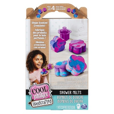 Cool Maker Handcrafted Shower Melts Activity Kit Makes 4 Scented Creations