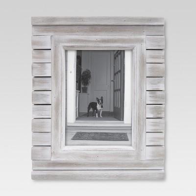 5 x 7 frame white wash threshold