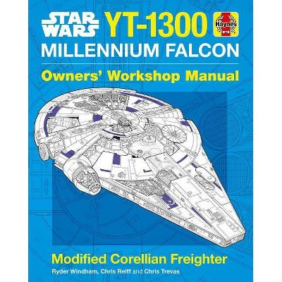 Star Wars: Millennium Falcon - (Haynes Manual) by  Ryder Windham (Hardcover)