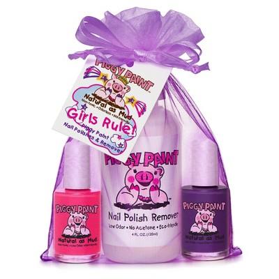 Piggy Paint Nail Polish and Polish Remover Set