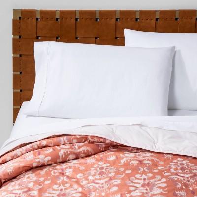 Ikat Tufted Velvet Quilt Coral - Opalhouse™