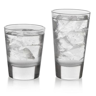 Libbey Geo Glass 16pc Drinkware Set