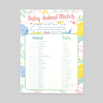 3pk baby shower games