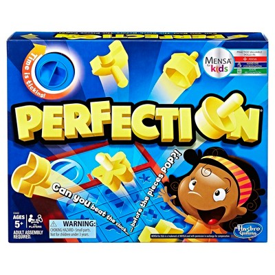 Perfection Board Game Target