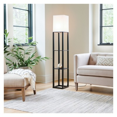 floor lamp living room accent chests for shelf threshold target 4 more
