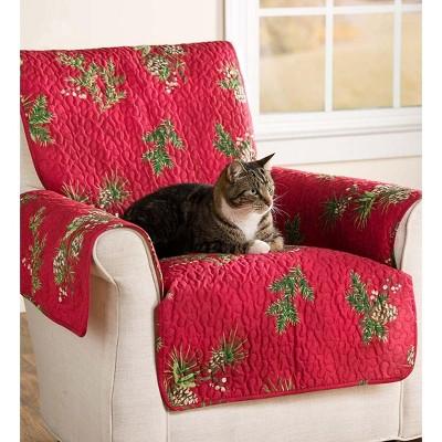 Pet Furniture/Sofa Cover 100% Cotton, Peaceful Pine - Plow & Hearth