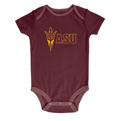 NCAA Baby Boys' 3pk Bodysuit Arizona State Sun Devils