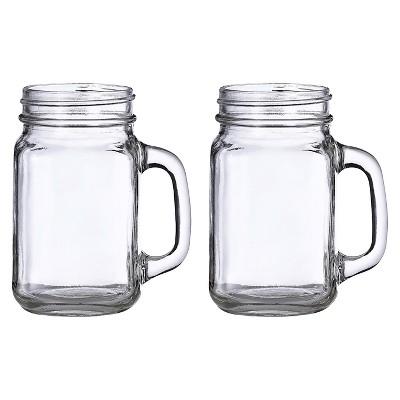 2ct Mason Jar Mugs