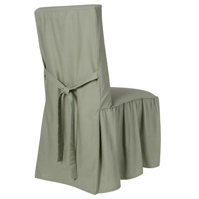 Cotton Duck Dining Chair Slipcover - Simply Shabby Chic®