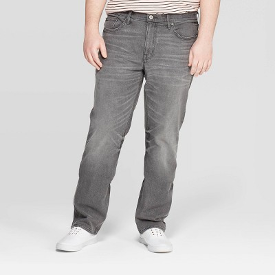 Men's Big & Tall Regular Slim Straight Fit Jeans - Goodfellow & Co™ Gray