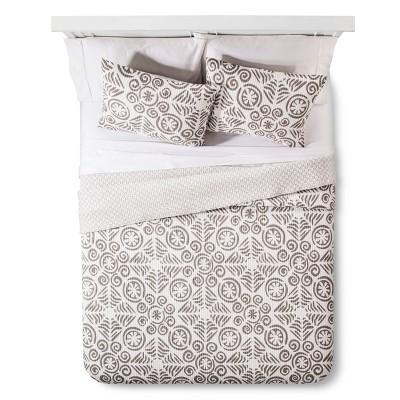Kalahari Quilt Set King Gray - homthreads™