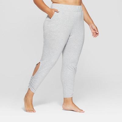 Women's Plus Cut-Out Fleece Pants - JoyLab™