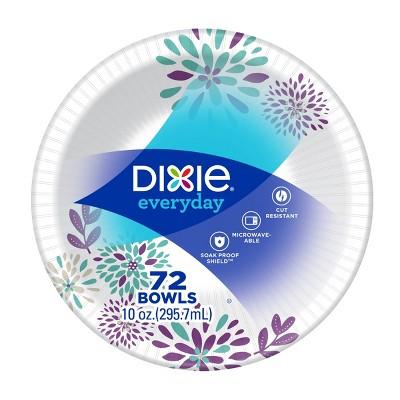 dixie everyday multi purpose disposable bowls 72ct 10oz