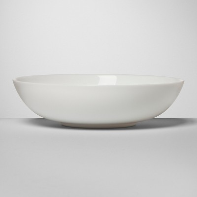 Glass Pasta Bowl 24oz White - Made By Design™