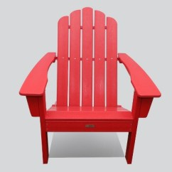 Red Adirondack Chairs Gaming Chair Stool Marina Outdoor Patio Luxeo Target