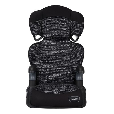 booster chairs for kids rei butterfly chair evenflo big kid seat static black target