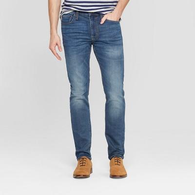 Men's Skinny Fit Jeans - Goodfellow & Co™ Denim Blue