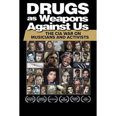 Drugs As Weapons Against Us: The Cia War On Musicians And Activists (DVD)