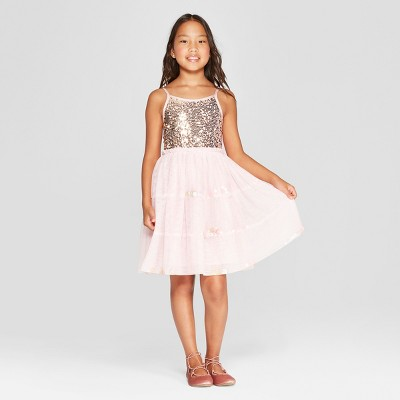 Girls' Sequin Dress - Cat & Jack™