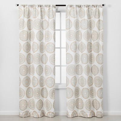 2pc Florence Light Filtering Window Curtain Panels - Threshold™