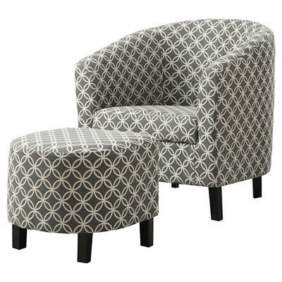 gray accent chair with ottoman backpacking rei and circles everyroom target