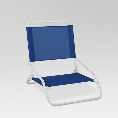 portable beach chair armchair design outdoor blue evergreen target