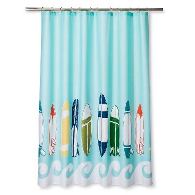 Surfboards Shower Curtain - Blue Ocean - Pillowfort™