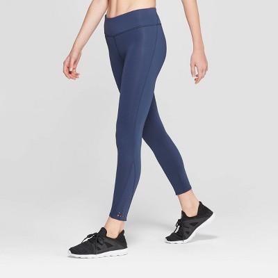 Women's Performance Mid-Rise 7/8 Laser Cut Leggings - JoyLab™