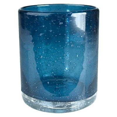 Artland 14oz 4pk Bubble Double Old-Fashioned Glasses Blue