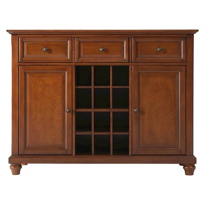 Cambridge Buffet Server / Sideboard Cabinet with Wine Storage
