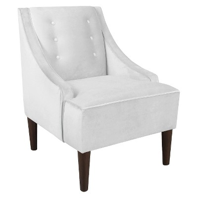 Custom Upholstered Swoop Arm Chair - Skyline Furniture®