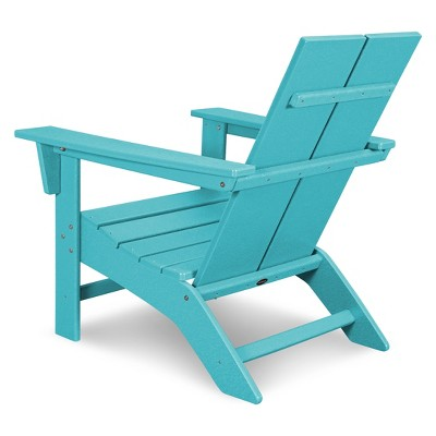 modern style adirondack chairs st croix contemporary chair polywood target