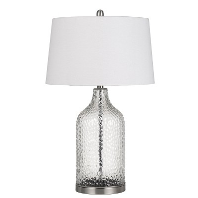150W 3 Way Rimini Glass Table Lamp (Priced And Sold In Pairs) (Lamp Only) - Cal Lighting